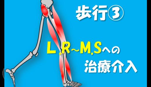 【東京会場③】L.Rでみるべき重心移動のメカニズム